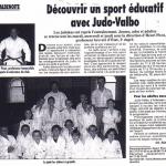 Les journaux parlent du club stéphanois de judo